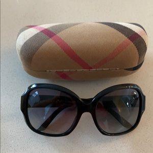 Burberry London studded black glasses